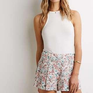 Pastel Print Shorts