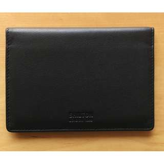 Leather passport cover -- soft, clean, good condition!