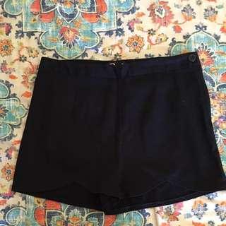 Navy blue Revival shorts