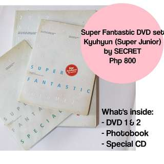 Super Junior Kyuhyun - Super Fantastic DVD