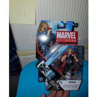 (31) 全新 復仇者聯盟 雷神 MARVEL UNIVERSE THOR AGES OF THUNDER