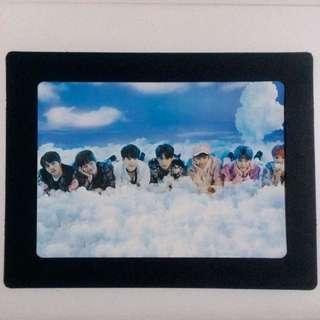 BTS Paper Frame Group Photo