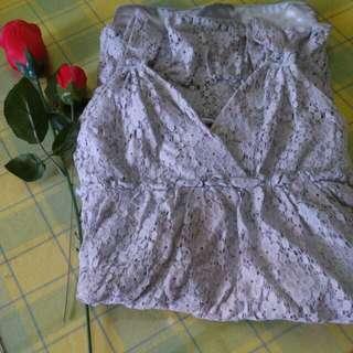 Empire Cut Mint Floral Mini Dress