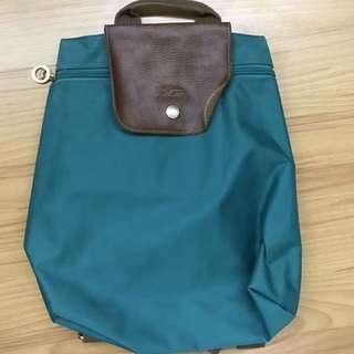 Longchamp Teal Backpack