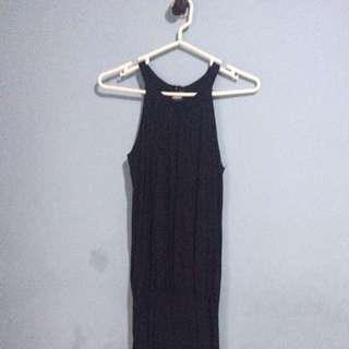 Semi Helter Black Dress