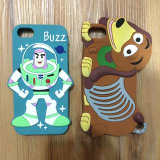 Rubber case 3D Buzzlighyear