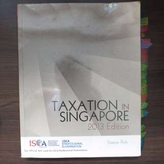 #allforfree Taxation in Singapore 2013 ACC3605