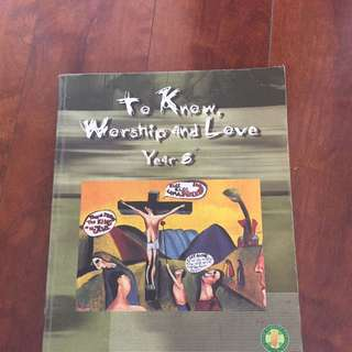 To Know Worship And Love Year 8 Textbook
