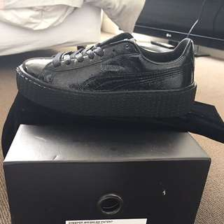 Fenty Creepers Wrinkled Leather Size 6