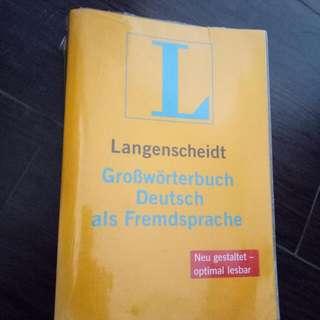Kamus Jerman Langenscheidt