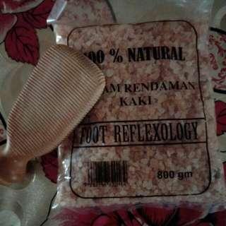 Foot Reflexology Foot Salt