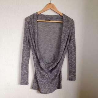 'Lolitta' Black & White Knit - Size 6