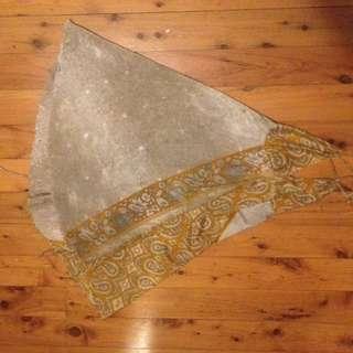 Hippy Chique Golden Low Back Halter Dress