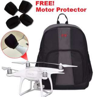 Backpack Bag For DJI Phantom 3 / 4 And Syma Drone. Also Suitable For Similar Drone & Camera (Brand New)