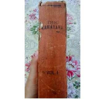 (REPRICE) RAMAYANA. Rare Book!