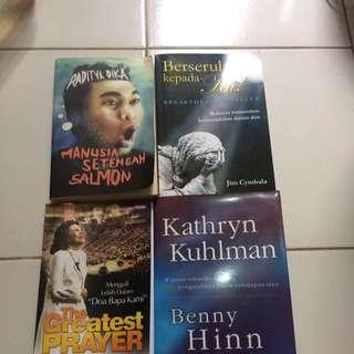 Buku Motivasi & Novel