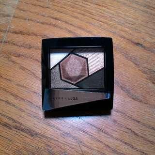 (出清)Maybelline 媚比琳 鎂光燈3D立體眼彩盤 BR-1時尚手拿包