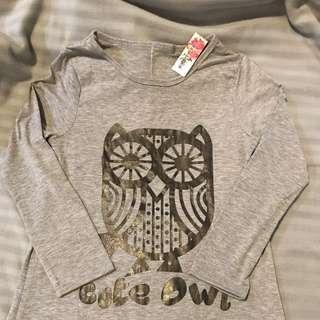 Grey Owl Maxi Dress