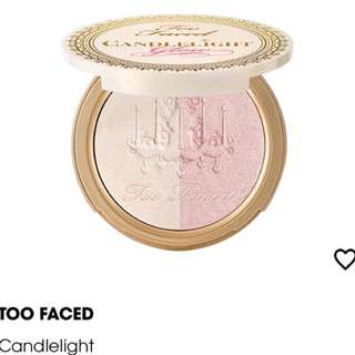 TOO FACED Candlelight Highlighting Power Duo Glow