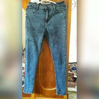 jag High waist skinny jeans