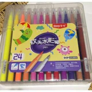 Brush Pen Set Of 24