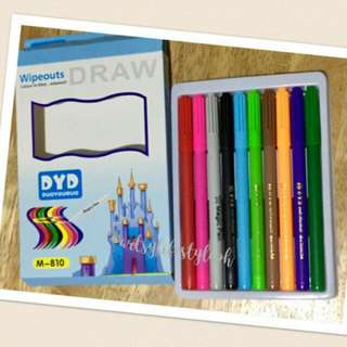 Magic Brush Pen Set Of 10