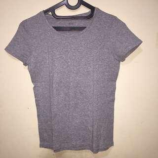 Grey Uniqlo Shirt