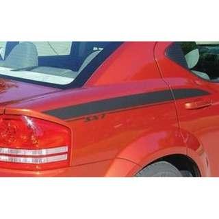 2008-2014 Dodge Avenger SXT SE R/T AVENGED Stripe Decals Kit