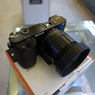 BNIB Sony A6000 Body with Sigma Art 19mm F2.8 DN Lens