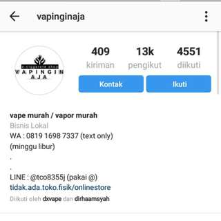 Akun Instagram Real Followers 13k