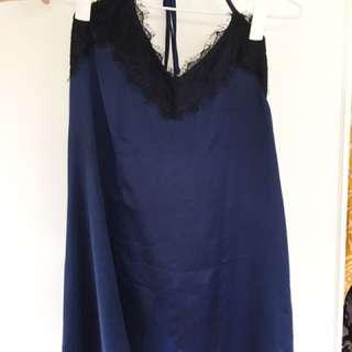 Pretty Silk-like Dress