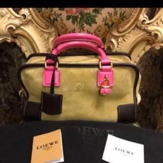 Loewe Suede Handbag 限量版