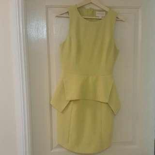 Keepsake The Lable Peplum Dress