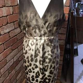 Leopard size 12 Dress