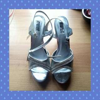 Fladeo Heels Silver