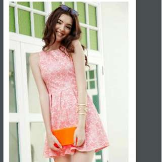 BN Flaunt Walking On Sunshine Pink Dress