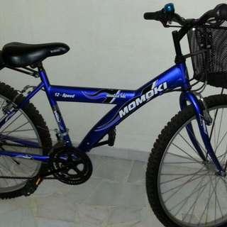 Momoki 12-Speed Bicycles (Blue)