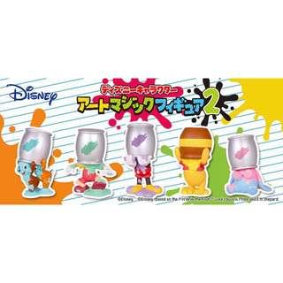 ((交換or出售))NEW!! 迪士尼繽紛油漆桶扭蛋