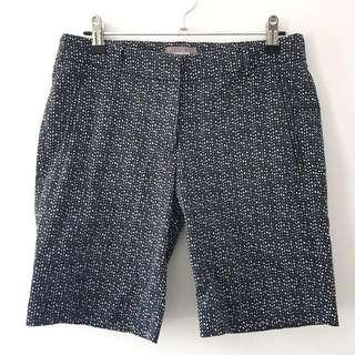 Sussan Size8 Black & White Shorts