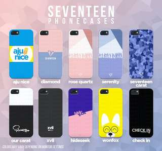 [ MY G.O ] SEVENTEEN Phone Case by @seventhingsph