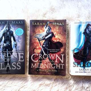 Throne of Glass Series (Preloved books)