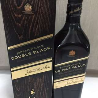 Johnnie Walker (Double black/ 1 Litre/ New With Box)