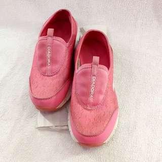 Sepatu Diadora Original Slip On Pink