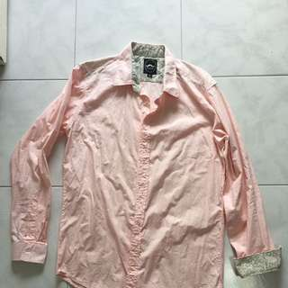 New but Washed L/S Shirt - Pink Color