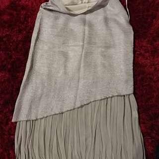 Chelsea size 14 Bronze Layered Skirt (calf Length)
