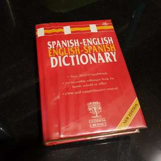 Spanish-English-Spanish Dictionary