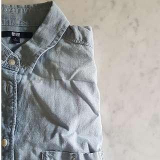 Uniqlo Light Denim Shirt
