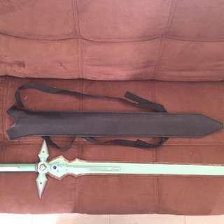 Pedang Dark Repulsor Bahan Besi 10kg