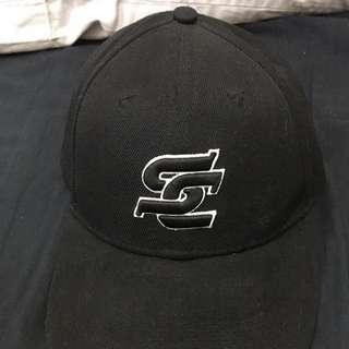 Step Crew 舞蹈品牌 黑色經典老帽