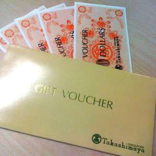 $3770/- worth of Taka voucher for sale at $3470 cash